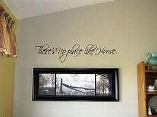 words for the wall home decor there s no place like home vinyl wall decal stickers decor