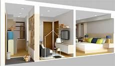 Desain Hemat Ruangan Untuk Apartemen Part 1