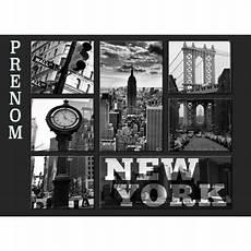 sous new york pour bureau set de table new york