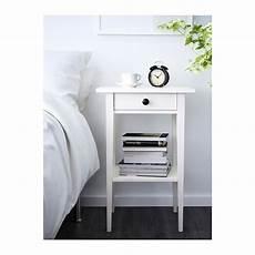 hemnes nightstand white stain ikea