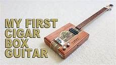 how to make cigar box guitars my cigar box guitar cbg diy with tools only