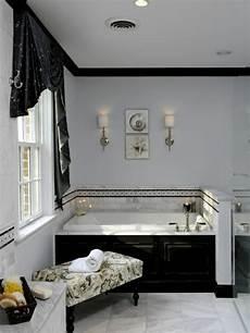 Le Salle De Bain Design En Blanc Et Noir Archzine Fr