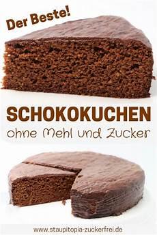 Schokokuchen Ohne Zucker Und Mehl Rezept Baking