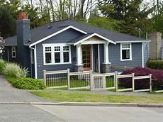 exterior paint colors blue grey bungalow architecture