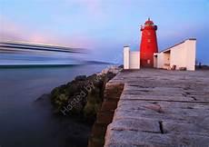 poolbeg lighthouse south bull wall dublin bay ireland