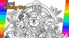 marvel avengers infinity war how to draw painting ironman hulk tor drawing and coloring