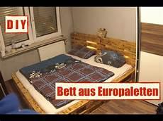 M 246 Bel Aus Europaletten Paletten Bett Mit Led Beleuchtung