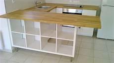 meuble bar cuisine ikea s 233 paration de cuisine avec kallax bidouilles ikea