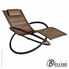 chaise rocking chair bali wave rocking chaise lounger w77750 bellini