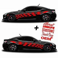 side vinyl decals for cars