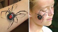3d Spider Makeup Arm And Painting Tutorial Great