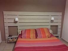 tete de lit en bois r 233 cup en 2019 lit en palette tete