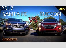 Ultimate Comparison: 2017 Hyundai Santa Fe Sport vs Tucson