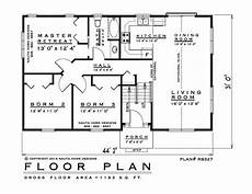 elevated bungalow house plans 3 bedroom raised bungalow house plan rb327 1193 sq feet