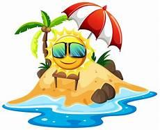 Gratis Malvorlagen Regenschirm Island Fr 246 Hliche Sonne Auf Der Insel Kostenlos Vector