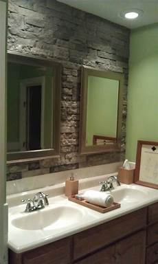 i need some ideas for a bathroom accent airstone accent wall in bathroom can t wait to do
