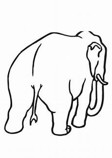 Malvorlagen Elefant Pdf Ausmalbilder Bulliger Elefant Tiere Zum Ausmalen