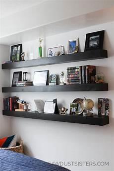 Free Floating Bookshelves