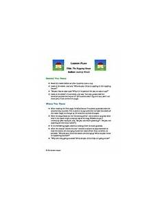 the napping house lesson plan the napping house teaching resources teachers pay teachers