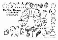 the hungry caterpillar coloring pages printables mit