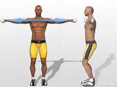 esercizi per spalle a casa alzate laterali con i pesi esercizi allenamento per spalle