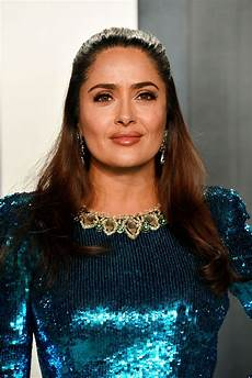 salma hayek salma hayek vanity fair oscar party 2020