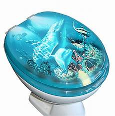 vcm wc sitz toilettendeckel motiv delfin mit