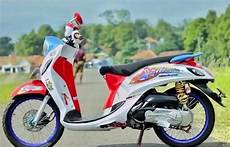 Modifikasi Motor Fino 2018 by Modifikasi Motor Fino 2018 Kumpulan Gambar Foto Modifikasi