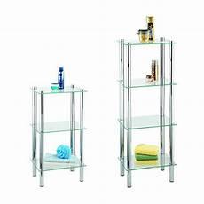 scaffali in vetro wenko exclusiv scaffale per il bagno e la casa yago 4