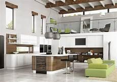 open kitchen design with modern touch for futuristic home interior amaza design