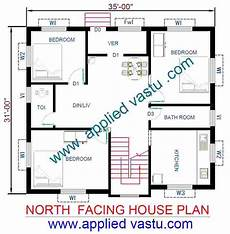 vastu for house plan facing north north facing house plan north facing house vastu plan
