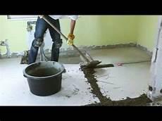 betonboden garage sanieren b 246 den renovieren mit schnell estrich