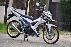 Motor Sonic Modifikasi by Ok Modifikasi Honda Sonic