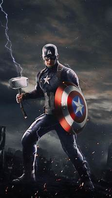 Wallpaper Iphone Lock Screen Marvel Captain America