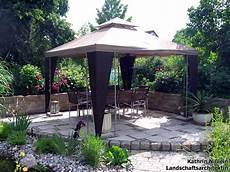pavillon für terrasse landschaftsarchitektin kathrin ni 223 lein referenzen