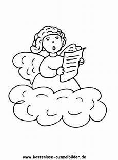 Engel Malvorlagen Zum Ausdrucken Zum Ausdrucken Ausmalbilder Engel Ausmalen Ausmalbild Singender Engel