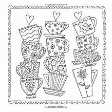 Coloring To Calm Volume One The Coloring Cafe Volume One A Coloring Book