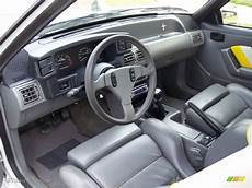 how to fix cars 1989 ford mustang interior lighting saleen grey white yellow interior 1989 ford mustang saleen ssc fastback photo 52329135