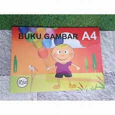 Buku Gambar Drawing Book Ria A4 Shopee Indonesia