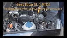 seat ibiza 6l 1 9 tdi keilrippenriemen und spannrolle