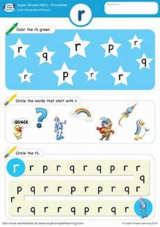 phonics worksheets 20405 letter recognition phonics worksheet r lowercase simple