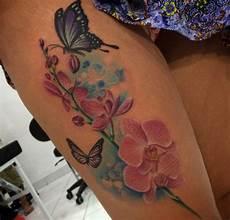 orchidee tattoos 25 ideen bedeutungen und entw 252 rfe