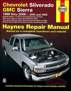 service repair manual free download 2006 gmc sierra denali auto manual chevrolet silverado gmc sierra shop service repair manual haynes truck chilton ebay
