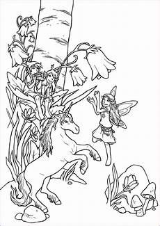 Ausmalbilder Einhorn Und Elfen Ausmalbilder Feen Und Elfen Ausmalen Einhorn Zum