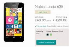 ee uk offering nokia lumia 635 4g windows phone for 163 39 rightlaptop com