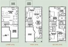 3 story floor plans three story condo floor plan my home three