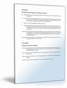 Mietvertrag Zimmer - k 252 ndigung mietvertrag zimmer fristgem 228 223 muster zum