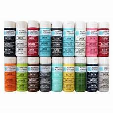 martha stewart crafts 2 oz color multi surface satin acrylic craft paint promo767c the