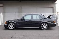 there s a 1991 mercedes 190e 2 5 16v evo ii for