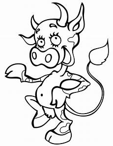 cow coloring pages getcoloringpages
